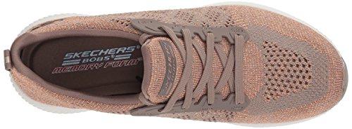Sneaker Donna Bobs Beige Squad Taupe Hot Infilare Skechers Spark gPWRR