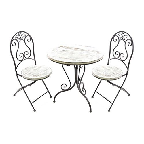 Jordan Distressed Bistro Set -