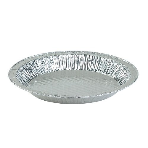 Nicole Home Collection 00564 Aluminum 9″ Pie Plate, 1-1/4″ Deep (Pack of 200)