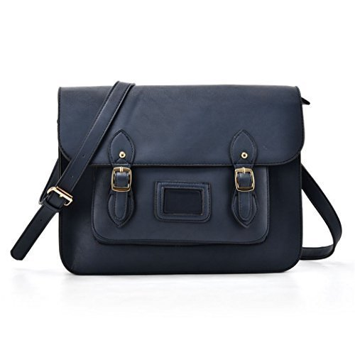 Fashion J65 Blue Handbags Satchel Crossbody Faux Shoulder Ladies Messenger Leather Womens Uqx14HHw