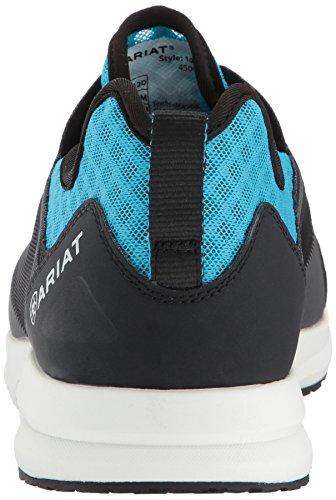Mens Ariat Fusible Mesh Bleu Chaussure De Sport Surligneur