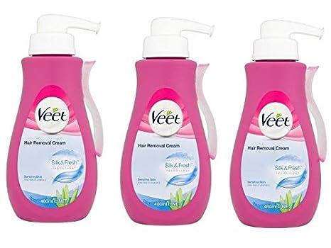 Buy Veet Gel Cream Hair Remover 13 52oz Pump Sensitive 3 Pack
