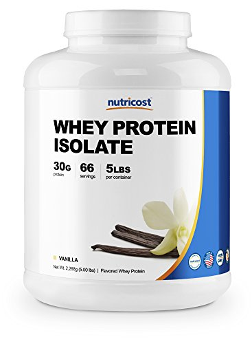 Nutricost Protein Isolate Powder Vanilla