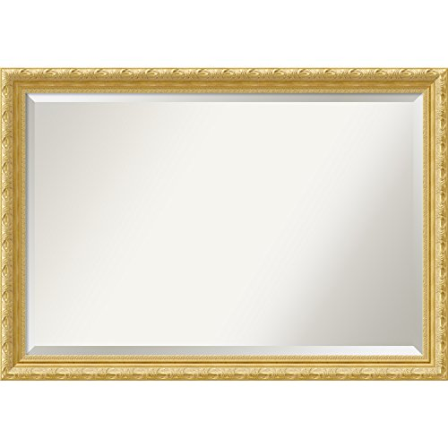 Amanti Art Wall Mirror Versailles Gold: Outer Size X-Lrg 40x28, Extra Large-40 x 28