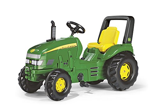 rolly toys John Deere X-Trac Pedal Tractor with Front and...