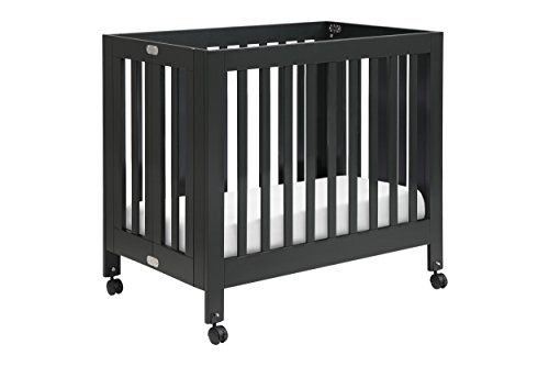 Babyletto Origami Mini Crib, Black