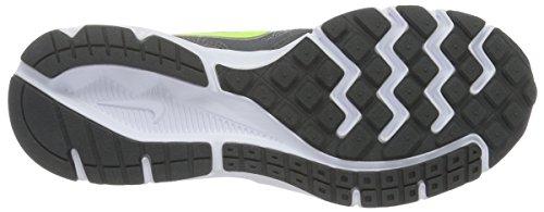 Nike Nike (Nikmm) Downshifter 6 - Zapatillas de Entrenamiento Hombre Grau (Hellgrau/Dunkelgelb/Grau-Weiß)