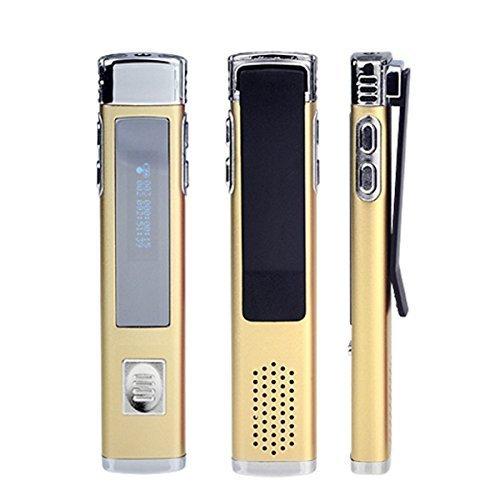 2015 New Wdjd-mp3 F2-16gb Clip Sport Mp3 Music Player,digital Voice Recorder Pen Drive A-b Repeat Fm(golden)
