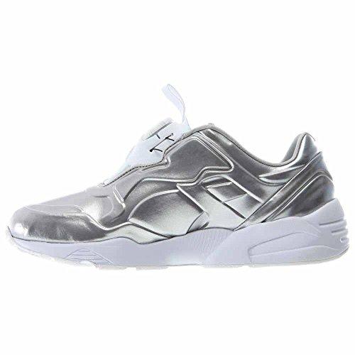 Synthetic Puma Men Metallic Sneakers Disc Toe Silver Green Metal 89 Round Tq6nSTr