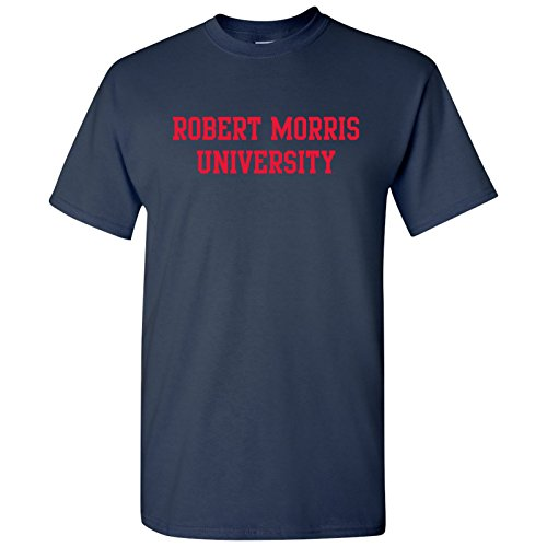AS01 - Robert Morris Colonials Basic Block T-Shirt - 3X-Large - - Colonels Basketball