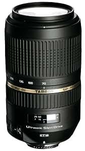 Tamron A005E SP 70-300 mm F/4-5.6 Di VC USD (XLD)- Objetivo para Canon (distancia focal 70-300mm, apertura f/4-5,6, estabilizador óptico, macro, diámetro: 62mm) negro