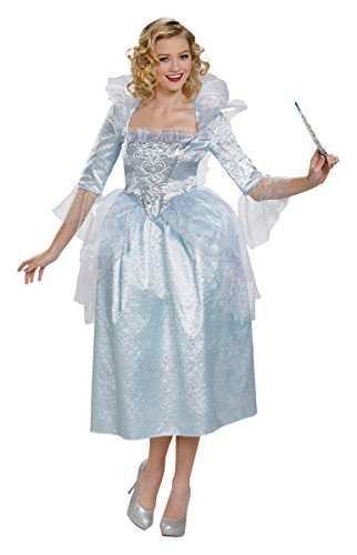 Fairy Godmother Movie Deluxe Costumes (Deluxe Fairy Godmother Adult Costume - Small)