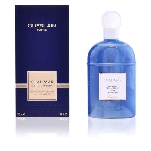 Gel Perfume Shalimar - Guerlain Shalimar Satin Shower Gel 200ml/6.7oz