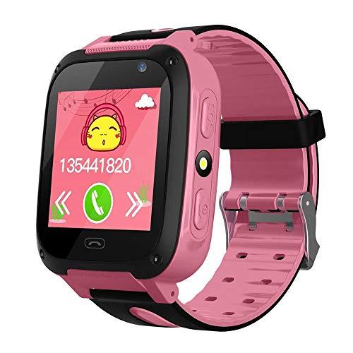LayOPO Kids GPS Tracker Watch, Waterdichte Kinderen Smart Horloge Met 1,44 Inch Touch Screen/Call/GPS/Activiteit…