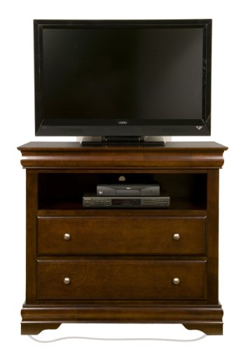 Alpine Furniture Chesapeake 2 Drawer Media Chest Alpine Modern Tv Stand