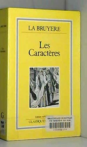 Les Caracteres (French Edition) (Bruyere-shops)
