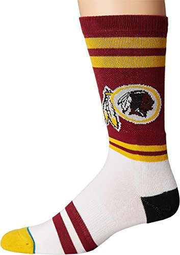 Stance++Men%27s+Redskins+Sideline+Burgundy+Large