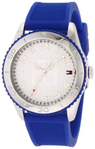 Tommy Hilfiger Women's 1781129 Sport Stainless Steel Cobalt Blue Silicon Watch