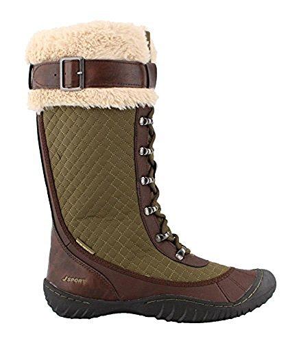 Jsport Av Jambu Kvinna Wingate Väder Klar Snö Boot Armé