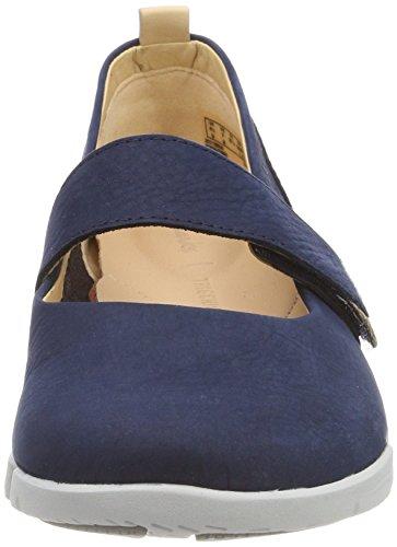 Nubuck Clarks navy Sneakers Basses Carrie Bleu Femme Tri PPq04wz