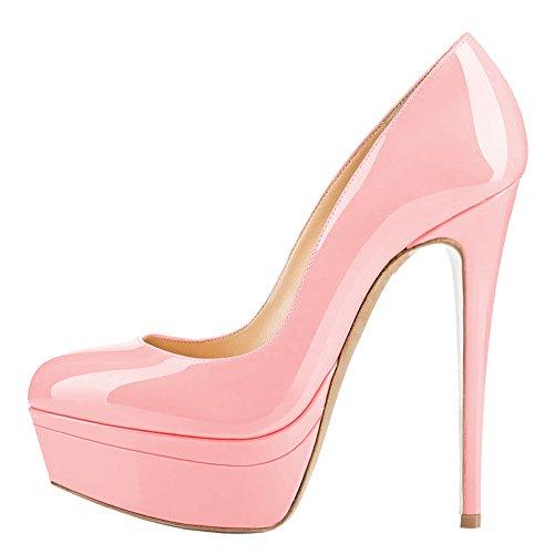Plateau AOOAR Plateau Lackleder Pink Lackleder AOOAR Pink Women's Women's AOOAR qa1BOfq6c
