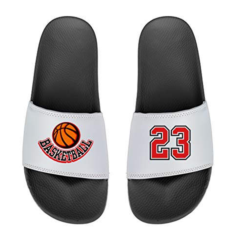 Custom Slide - Custom Slides Sandals Personalized Slip-On Adult Mens Grey
