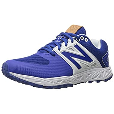 New Balance Men's 3000v3  Baseball Turf Shoes, Royal/White - 11 D(M) US