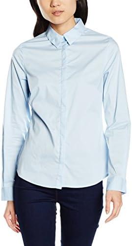 New Look Work Camisa, Azul (Light Blue), 34 para Mujer ...