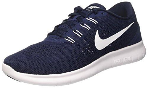 Nike Free Rn Løpe Trenere 831508 Joggesko Sko (oss 8,5, Obsidian Hvit Svart 403)