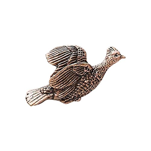 Cuivre ~ gélinotte huppée Flying ~ Pin's (épinglette/Broche ~ bc029