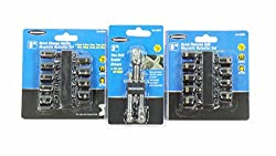 Quick Change Socket Adapters 3 Pc Metric Nut Drivers 9 Pc & Sae 9 Pc Bundle By Warrior