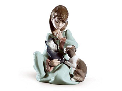 Lladro Sale Porcelain CAT NAP 010.05640 Worldwide Shipping