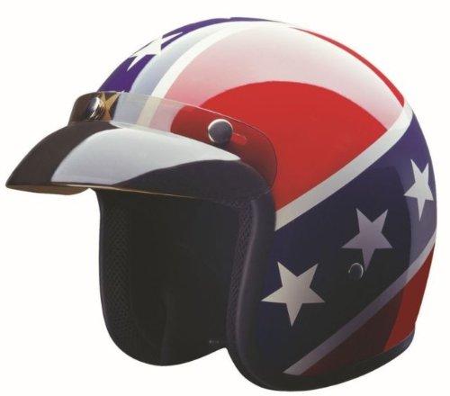 HCI Rebel DOT Motorcycle Helmet. 10-015