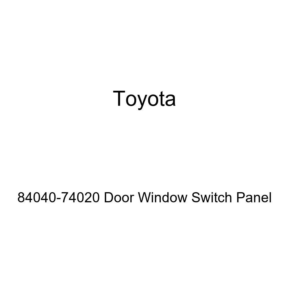 Toyota 84040-74020 Door Window Switch Panel