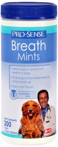 Pro-Sense Breath Mints, Chewable, 200 Tablets