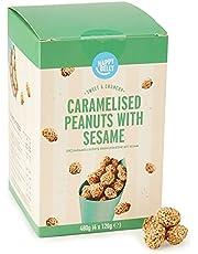 Happy Belly Gekarameliseerde Peanuts met sesame