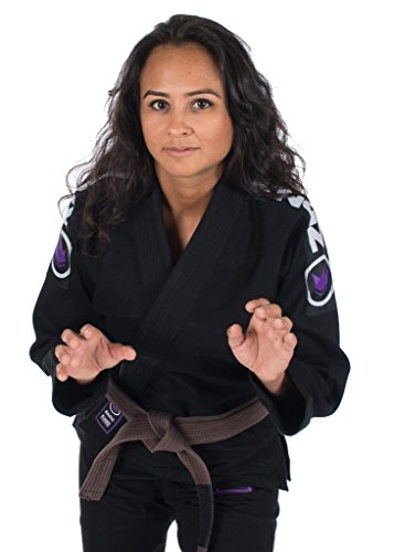 Kingz-Basic-20-Womens-BJJ-Jiu-Jitsu-Gi-with-Free-White-Belt