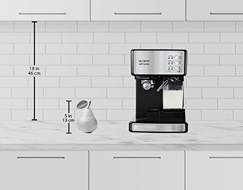 Mr. Coffee Café Barista Premium Espresso & Cappuccino System, Silver by Mr. Coffee (Image #1)