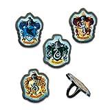 Harry Potter School Crest Rings