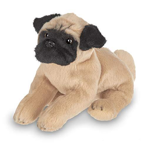 - Bearington Lil' Pugsly Small Plush Pug Stuffed Animal Puppy Dog, 6 inches