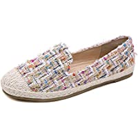 Meeshine Womens Casual Loafers Round Toe Comfort Slip On MoccasinsFlats Walking Shoes