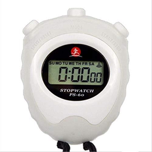 jjh Timers Stopwatch LCD Digitale Chronograaf Running Outdoor Voetbal Sport Training Tijd Timer Aftellen Tweede Klok…