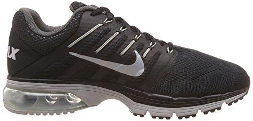 Nike Hommes Air Max Exceller 4 Chaussure De Course Noir / Blanc / Gris Foncé
