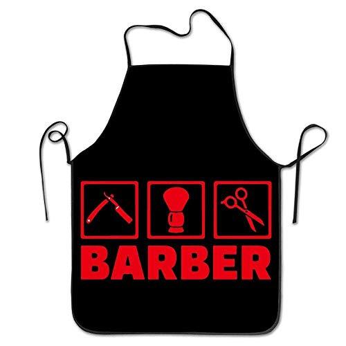 (Giemceh Barber Tool Kitchen Aprons for Women Men)