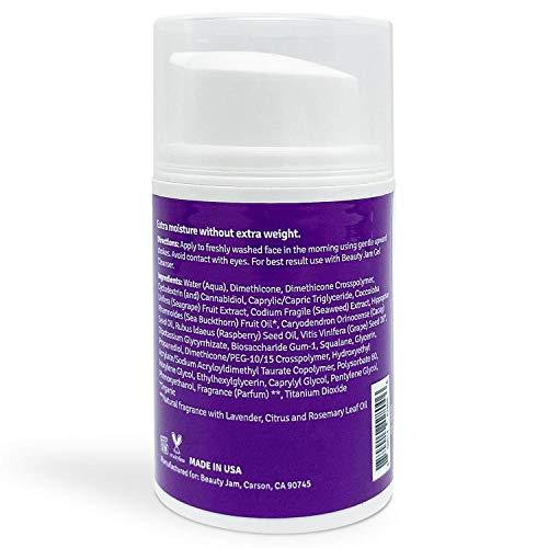 Beauty Jam Whipped Day Moisturizer for Dry Sensitive Skin, 1.7 Ounce