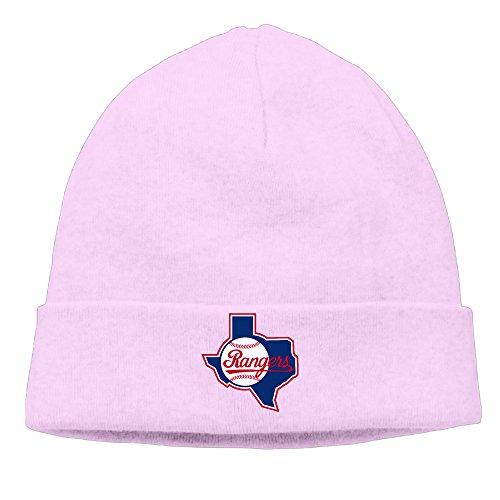 [Caromn Texas Ranger Baseball Beanies Skull Ski Cap Hat Pink] (Resident Evil 5 Alice Costume)