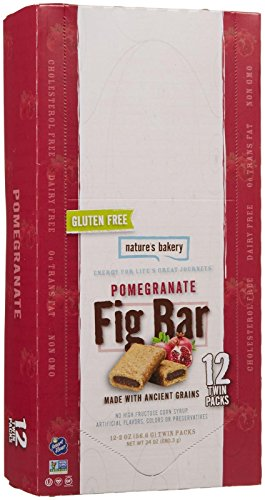 Nature's Bakery Gluten Free Fig Bars - Pomegranate - 12 Count