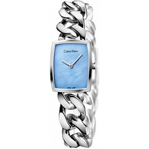 Women's Calvin Klein ck Amaze Chain Bracelet Watch K5D2M12N