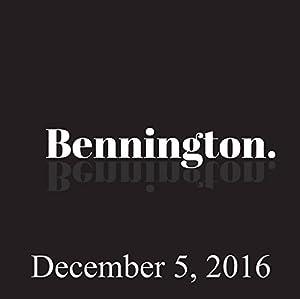 Bennington, December 5, 2016 Radio/TV Program