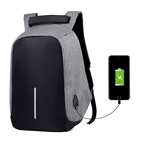 Travel Outdoor Computer Backpack Laptop bag 18''(black) - 7